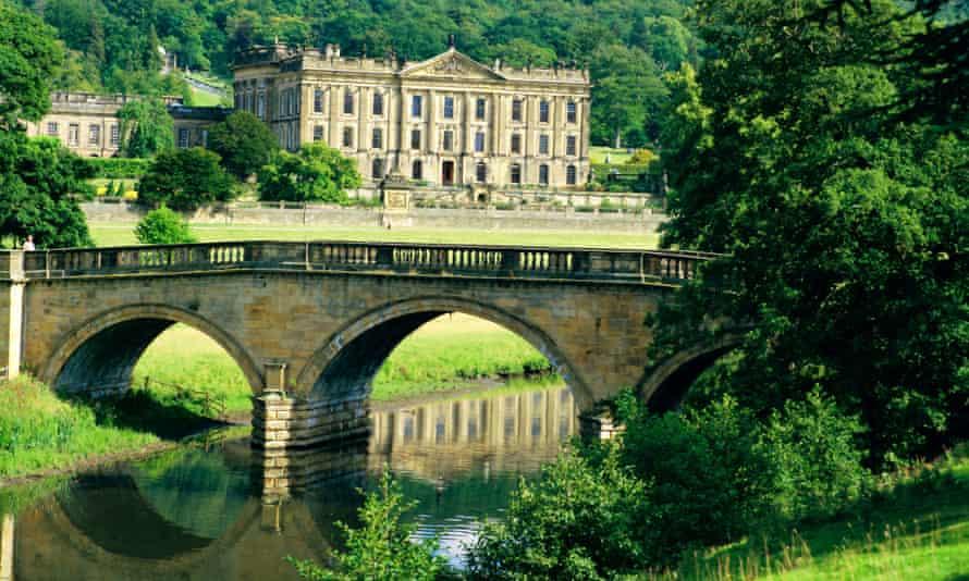 Making history: Chatsworth House, Derbyshire.