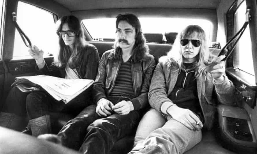 Rush during their 1978 tour