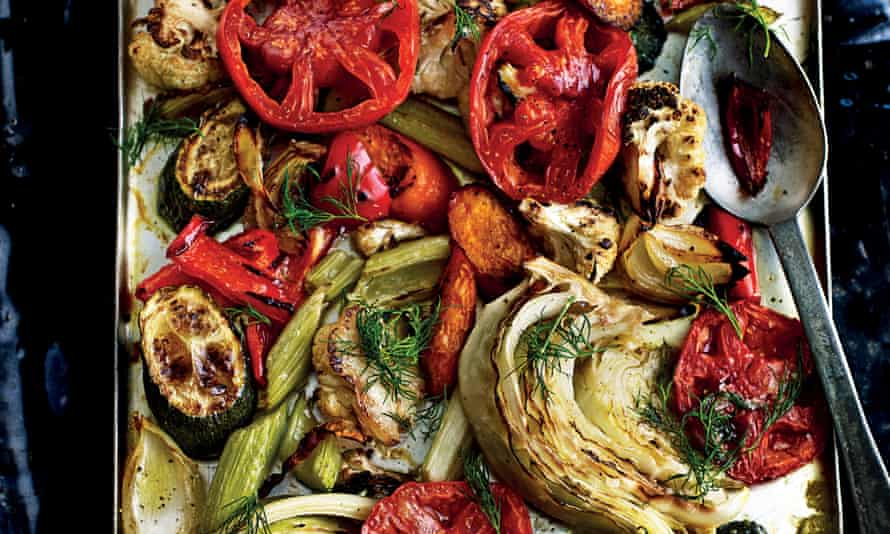 Armenian Roast Vegetables