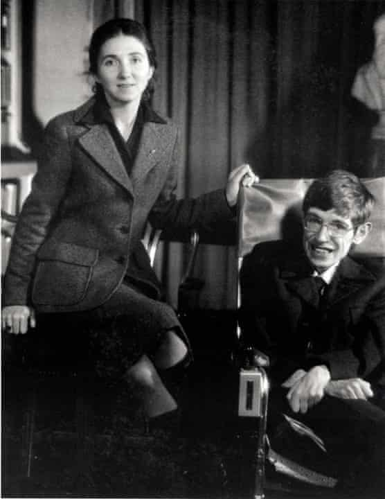 Jane and Stephen Hawking