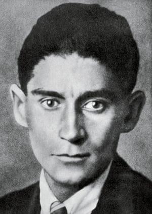 Portrait of  Franz Kafka, 1923/24.