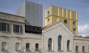 The Fondazione Prada in Milan designed by Rem Koolhaas.