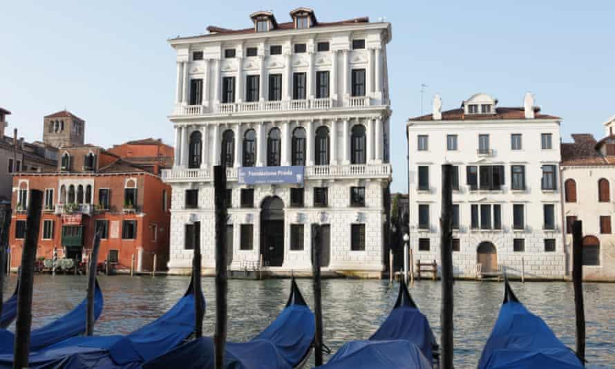 The Prada palazzo in Venice.