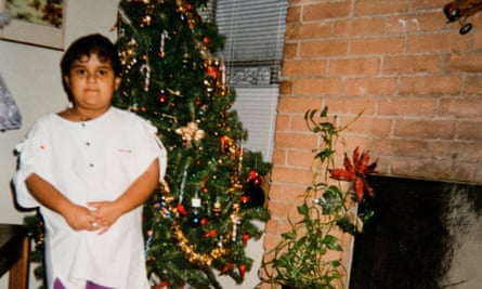 'I was desperate to get back': Magdalena Ventura as a child in Georgia, before she moved back to Mexico.