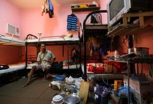 Kupttamon, an Indian labourer working in Qatar.