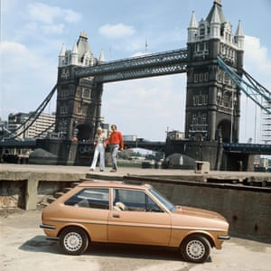 Bridge of sighs: an older Fiesta shows just how far it, and we, have travelled.