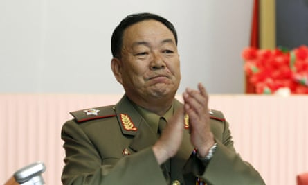 General Hyon Yong-chol, who has reportedly been executed by firing squad.