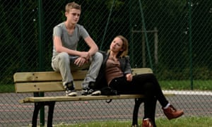 Standing Tall (La Tête Haute) film still.
