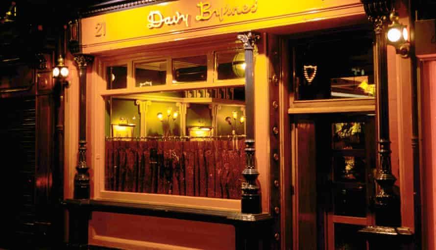 Davy Byrnes in Dublin.