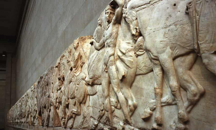 Part of the Parthenon marbles