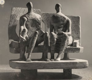 Family Group (plaster maquette for Unesco commission 1956-57).
