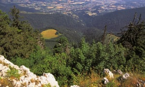 Rhone valley from the Jura