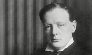 Winston Churchill c1900.