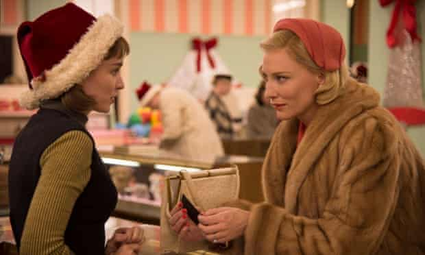 Rooney Mara and Cate Blanchett in Carol, directed by Todd Haynes.