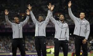 london olympics tyson gay