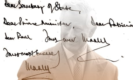 Prince Charles's 'black spider memos' show lobbying at highest political  level | Prince Charles letters | The Guardian