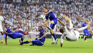 Sergio Ramos' spectacular overhead kick.