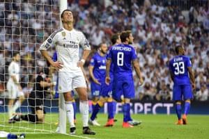 Ronaldo rues his unselfishness.