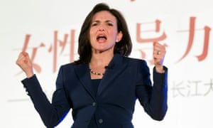 Facebook chief operating officer Sheryl Sandberg speaks at Women in Leadership and the Future of Online Business in Beijing.