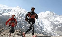 Trail running Nepal small image