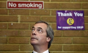 Nigel Farage, the Ukip leader