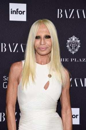 Donatella Versace in New York last year.