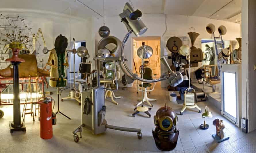 Designpanoptikum museum of bizarre objects, Berlin, Germany.