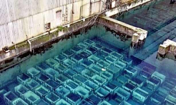 Dilapidated nuclear waste storage ponds in Sellafield abandoned 40 years ago containing hundreds of tonnes of fuel rods pose an immediate danger to public safety, photographs sent to The Ecologist reveal.