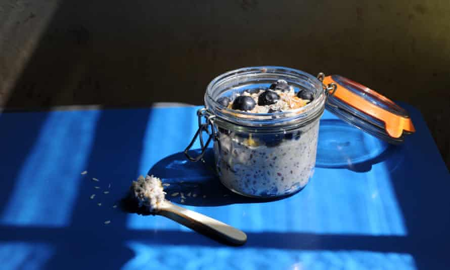 Overnight oats in a jar you can eat on the bus to work, from GuardianWitness contributor kmt393.