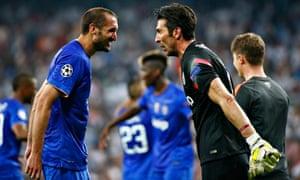 Juventus's Gianluigi Buffon