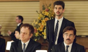John C Reilly, Ben Whishaw and Colin Farrell in The Lobster
