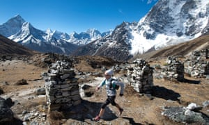 Nepal is a wonderful country for running. Here 100km world champion runner Lizzy Hawker competes in the Everest base camp to Kathmandu Mailrun.