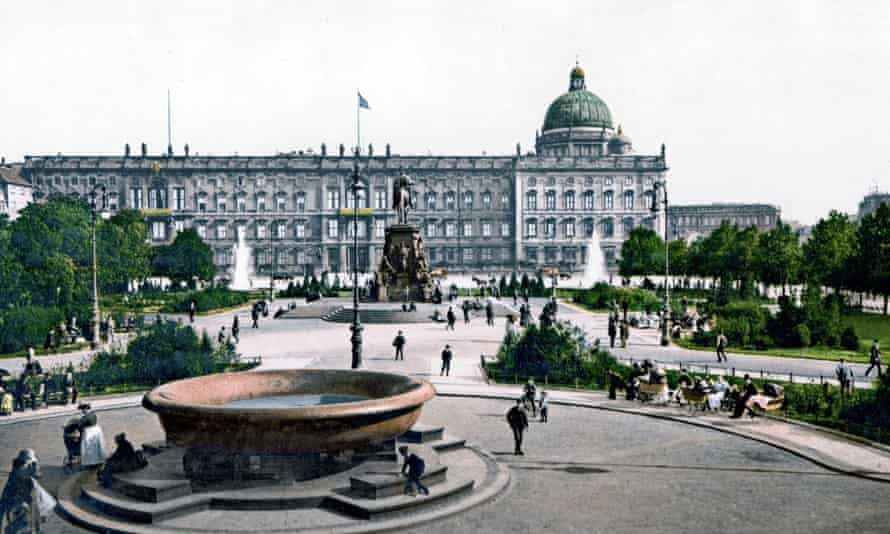 The Berlin palace before its destruction at the end of the second world war.