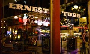 The famous Ernest Tubb Record Shop.
