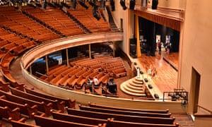 The Ryman Auditorium.