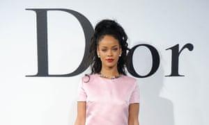 Rihanna at the Dior Cruise 2015 show