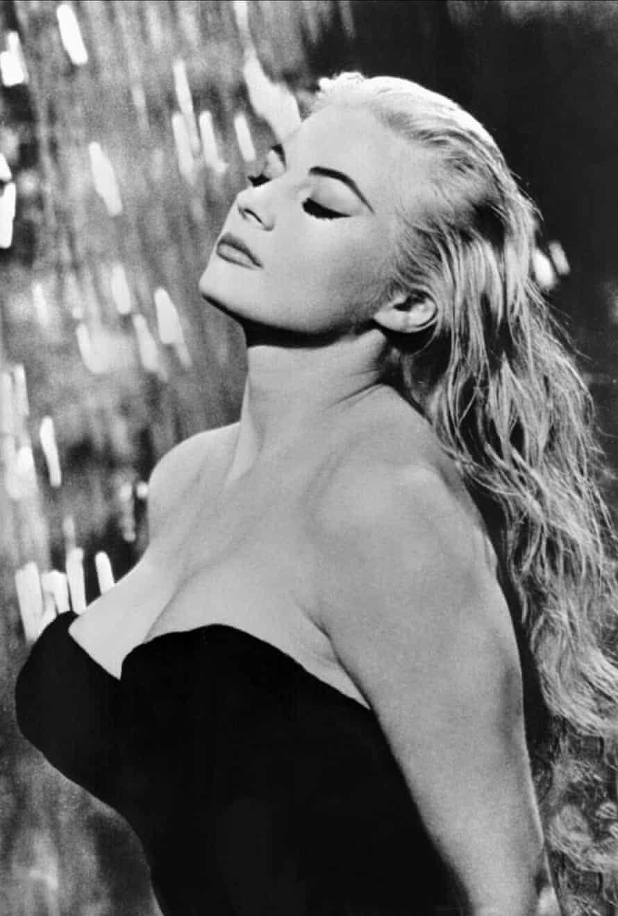 Anita Ekberg in La Dolce Vita (1960). Photograph: Allstar/Cinetext/Pathe.