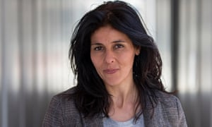 Souad Massi: 'I always dreamed of real democracy in the Arab world.' Photograph: Graham Turner for the Guardian
