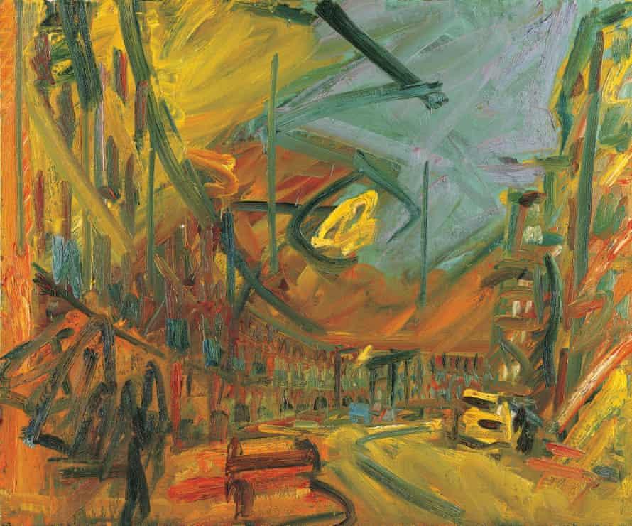 Auerbach's Mornington Crescent – Early Morning 1992-93. Courtesy Marlborough Fine Art, London