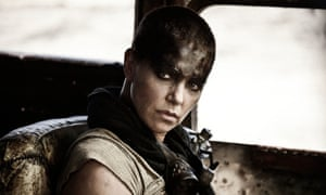 Charlize Theron as the Imperator Furiosa in Mad Max: Fury Road.
