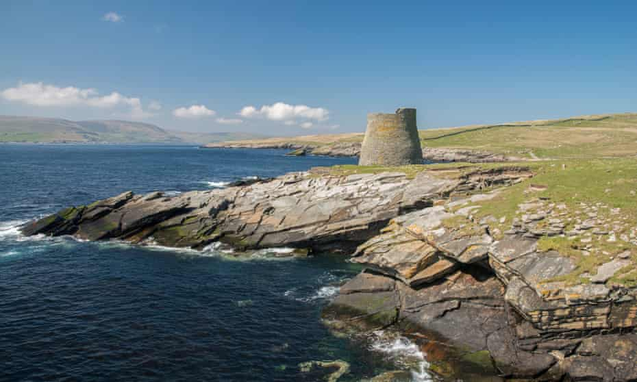 The broch on Mousa, Shetland, was built about 100BC.