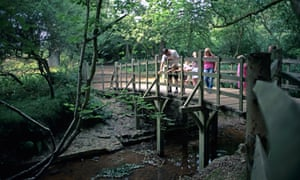 Pooh Bridge, in Ashdown Forest, near Hartfield, East Sussex, was originally called Posingford Bridge and dates from at least 1907