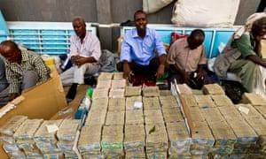 Money traders Somalialand