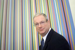 Chris Smith at the Tate Modern in 2000.