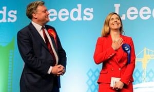 Conservative candidate Andrea Jenkyns beats Ed Balls in the Morley and Outwood seat