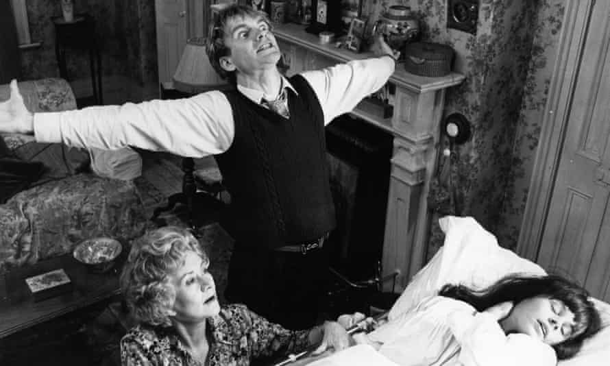 Suzanna Hamilton, Sting and Joan Plowright in Brimstone and Treacle, 1982