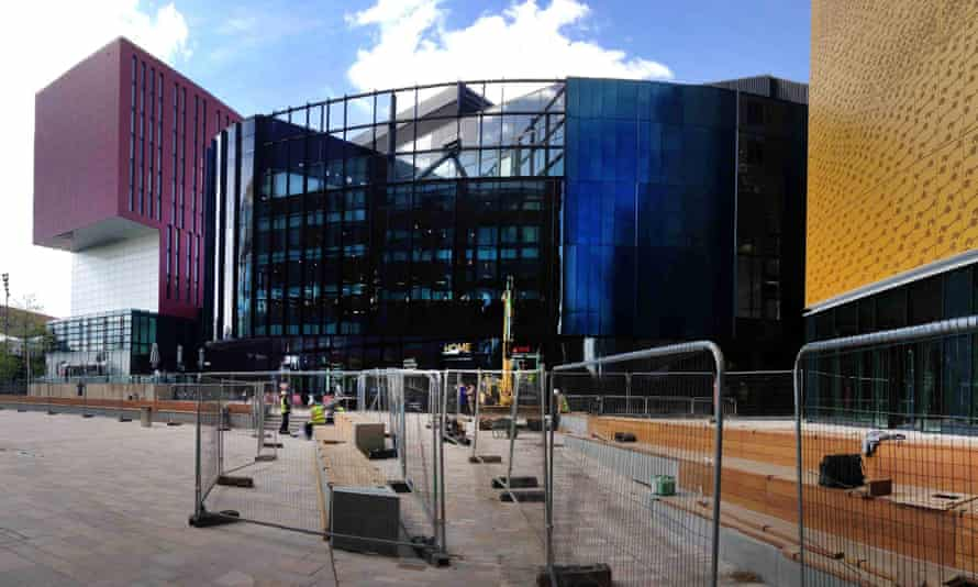 The Home arts complex in Manchester, designed by award-winning Dutch architects Mecanoo.