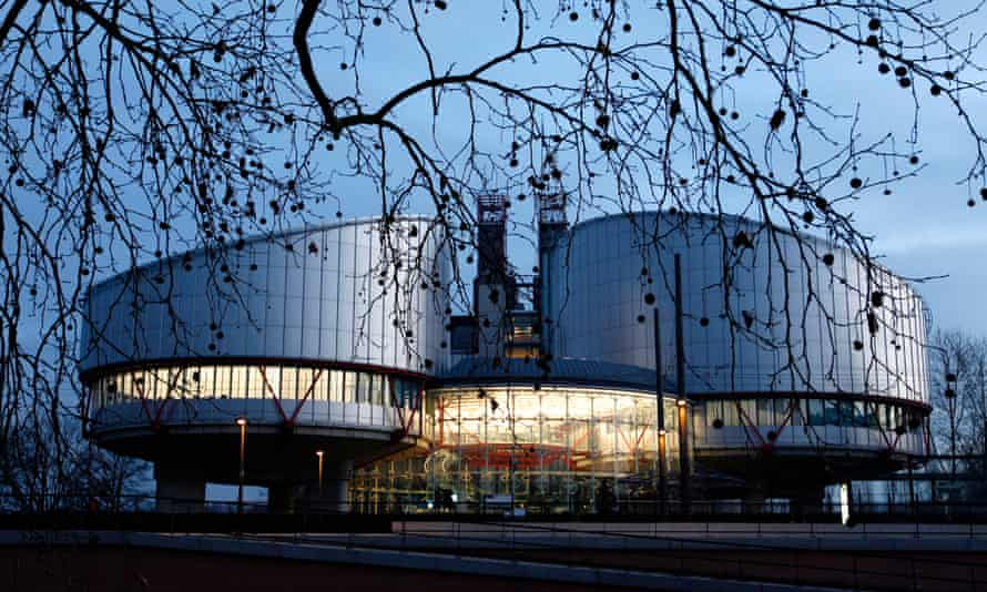 The European Court of Human Rights building in Strasbourg.