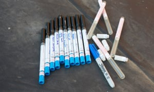 All the swabs