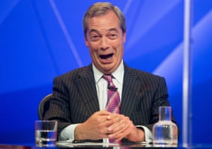 With a looming EU referendum, Farage says now would have been 'the wrong time to go'.